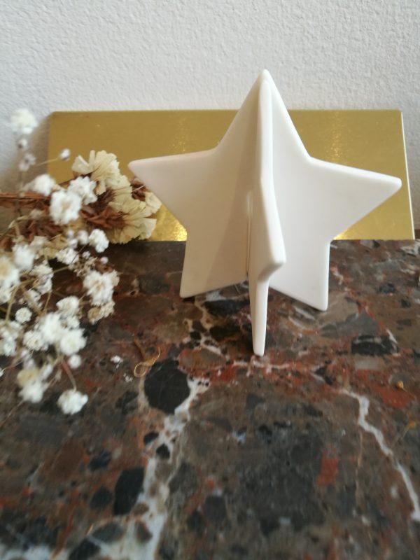 grande étoile céramique