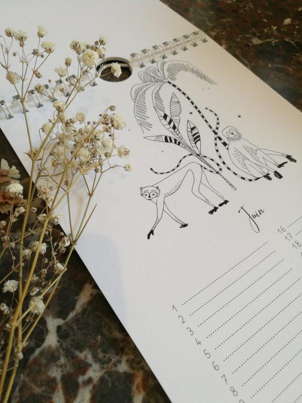 détail calendrier