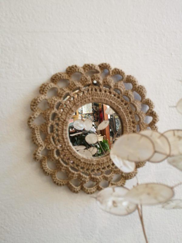 miroir crochet