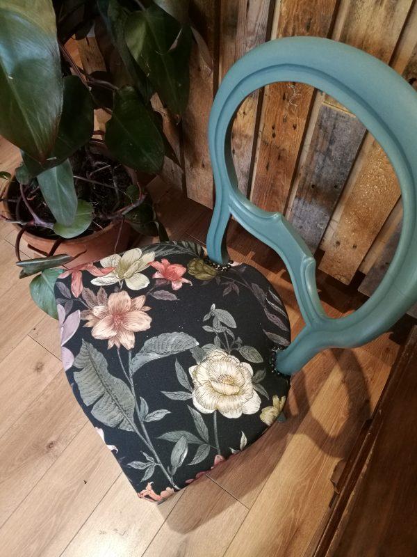 chaise vue dessus