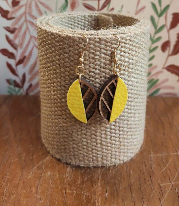 boucles herboriste jaune